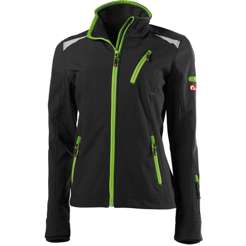 M Airsoft FORTIS Strickjacke dunkelgrau-lime Gr Funsport